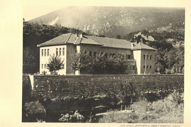 AVNOJ museum, Jajce, Bosnia and Herzegovina