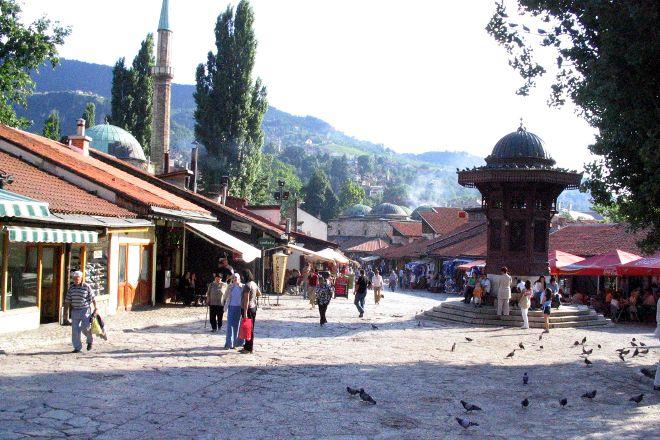 Bascarsija, Sarajevo, Bosnia and Herzegovina