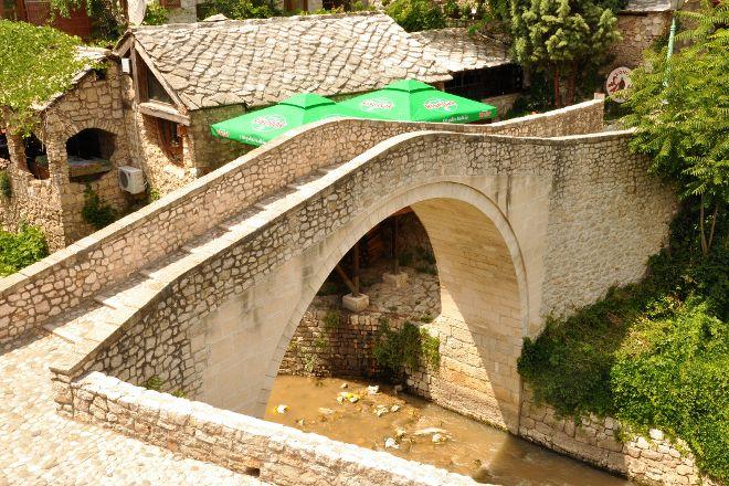 Crooked Bridge (Kriva Cuprija), Mostar, Bosnia and Herzegovina