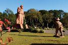 Esculturas Parque Pedras do Silencio