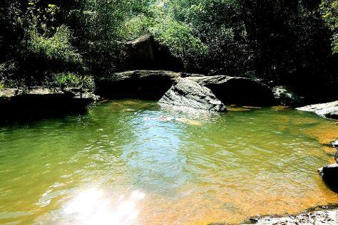 Cachoeira do Pedrao, Heliodora, Brazil