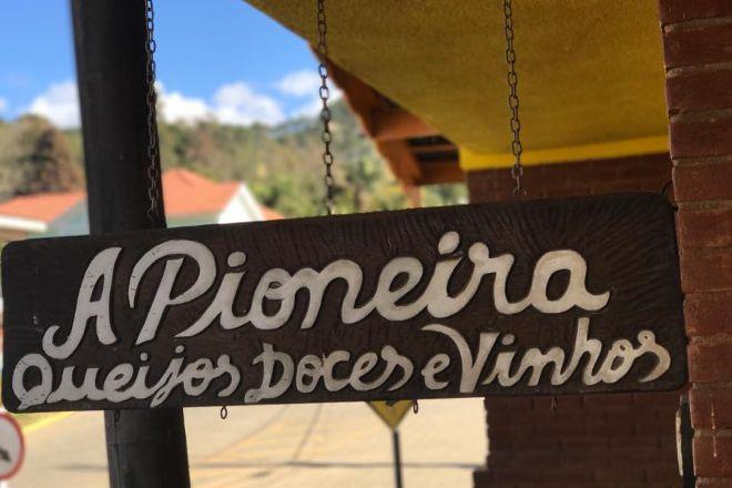 A Pioneira queijos, doces & vinhos, Goncalves, Brazil