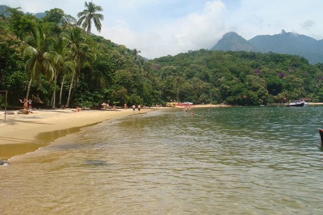 Abraaozinho Beach, Ilha Grande, Brazil