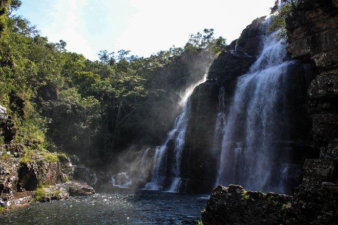 Almecegas I Waterfalls, Alto Paraiso de Goias, Brazil