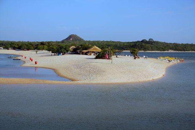 Alter do Chao Beach, Alter do Chao, Brazil