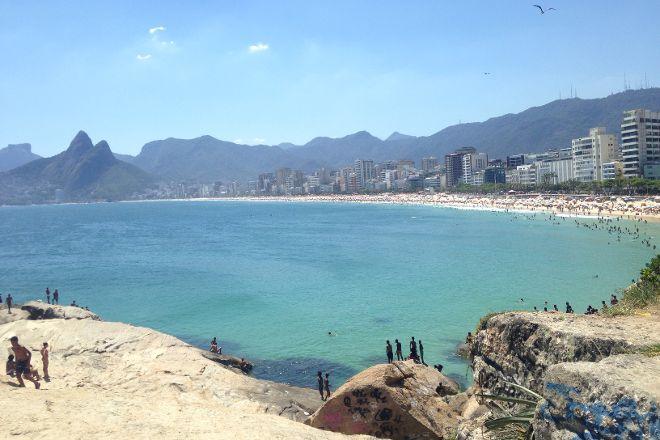 Pedra do Arpoador, Rio de Janeiro, Brazil