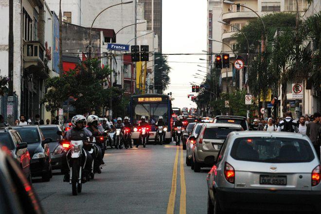 Augusta Street, Sao Paulo, Brazil