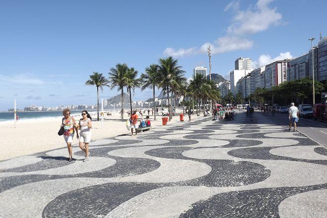 Avenida Atlantica, Rio de Janeiro, Brazil