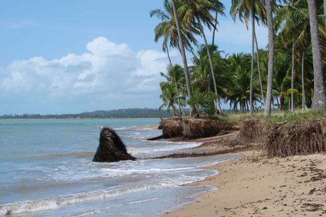 Barreiras do Boqueirao Beach, Japaratinga, Brazil