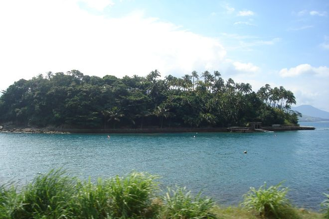 Cabras Island, Ilhabela, Brazil