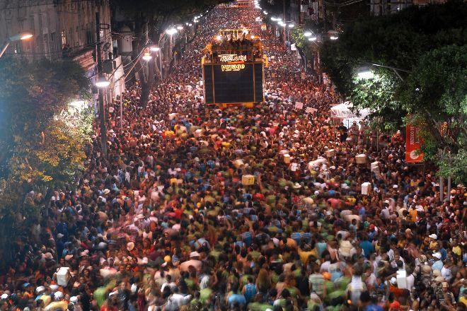 Carnaval en Salvador de Bahia, Salvador, Brazil