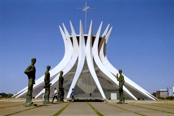Catedral Metropolitana, Brasilia, Brazil