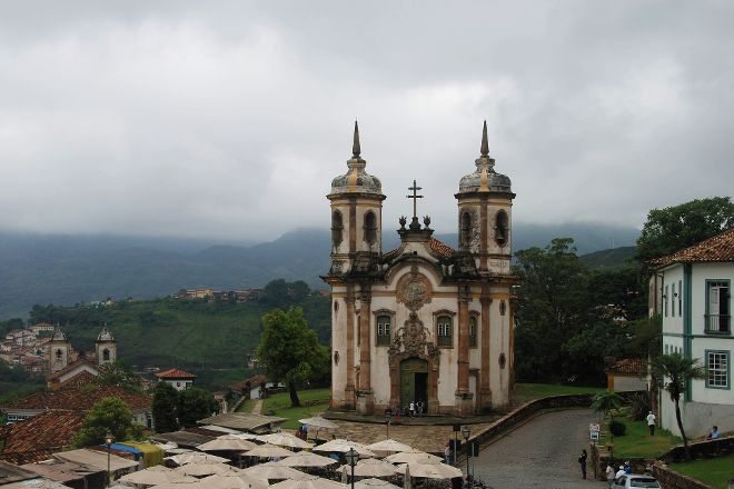 Church of Sao Francisco de Assis, Ouro Preto, Brazil