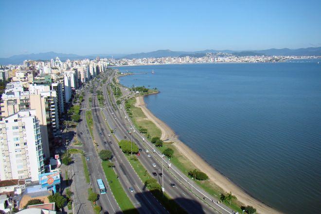 Ciclovia Beira Mar Norte, Florianopolis, Brazil