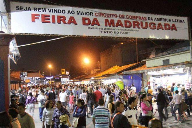 Feira da Madrugada do Bras - Street Market, Sao Paulo, Brazil