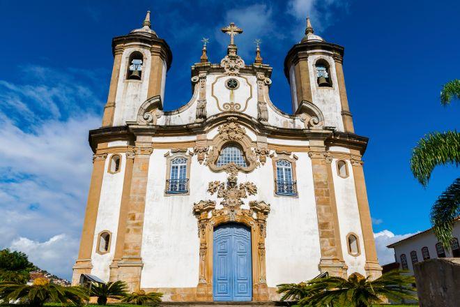 Igreja Nossa Senhora do Carmo, Ouro Preto, Brazil