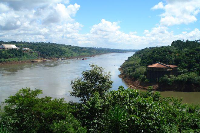 Iguacu River, Foz do Iguacu, Brazil