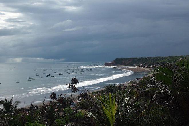 Praia da Redonda, Icapui, Brazil