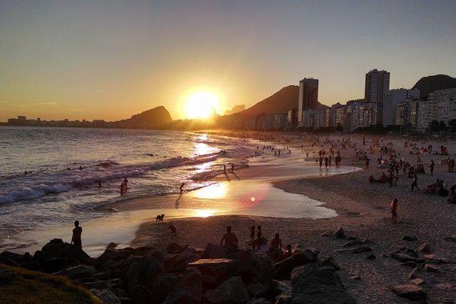 Praia do Leme, Rio de Janeiro, Brazil
