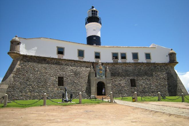 Santo Antonio da Barra Fort and Nautic Museum of Bahia, Salvador, Brazil