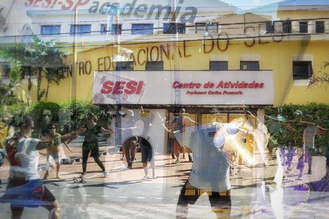 SESI - Vila das Merces Theater, Sao Paulo, Brazil