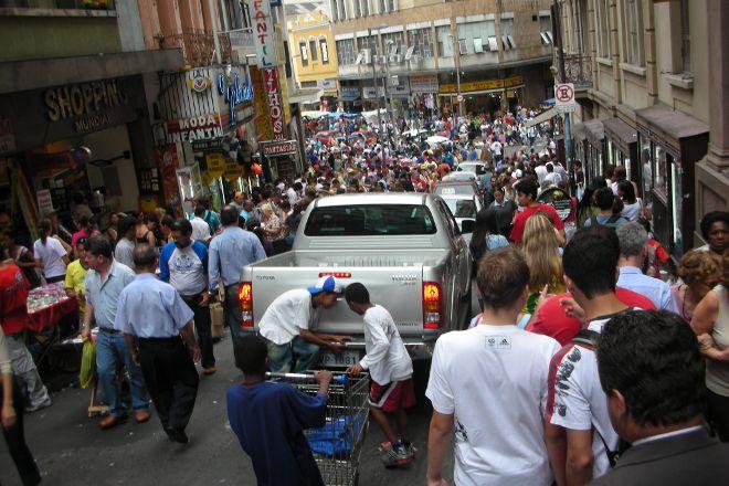 Shopping 25 de Marco, Sao Paulo, Brazil