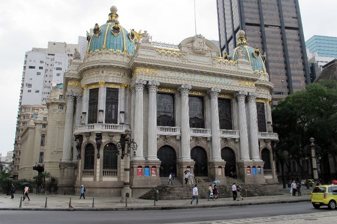 Theatro Municipal do Rio de Janeiro, Rio de Janeiro, Brazil
