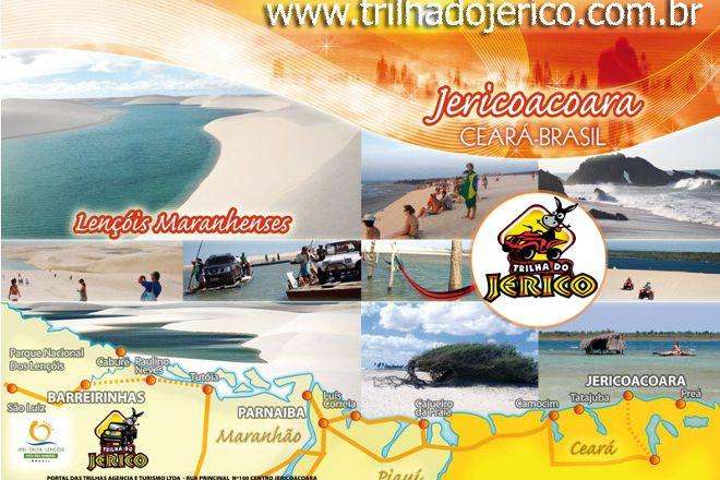 Trilha do Jerico, Jericoacoara, Brazil