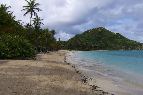 Deadman's Beach, Peter Island, British Virgin Islands