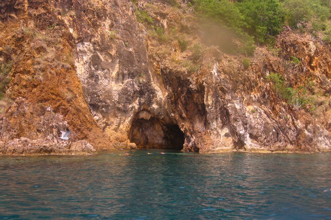 Norman Island Caves, British Virgin Islands