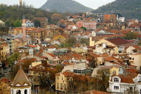Plovdiv Old Town, Plovdiv, Bulgaria