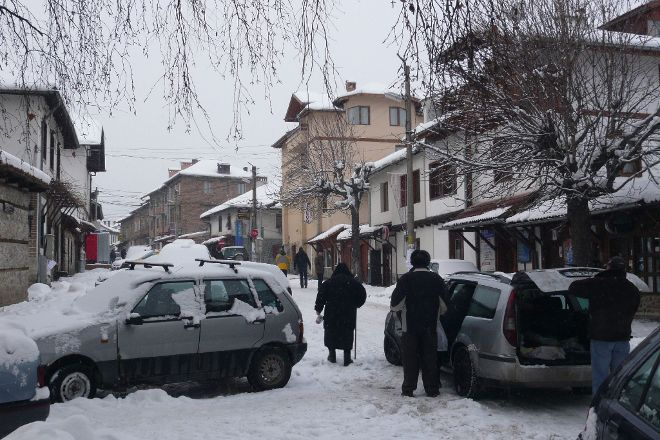Pirin Street, Bansko, Bulgaria