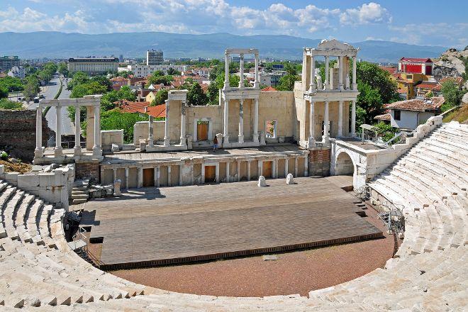Plovdiv Roman Theatre, Plovdiv, Bulgaria