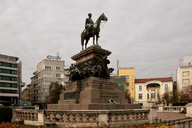 Statue of Tsar Alexander II, Sofia, Bulgaria