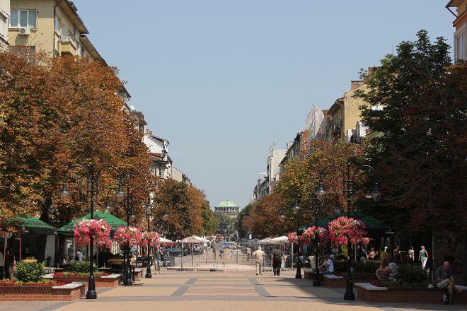 Vitosha Boulevard, Sofia, Bulgaria