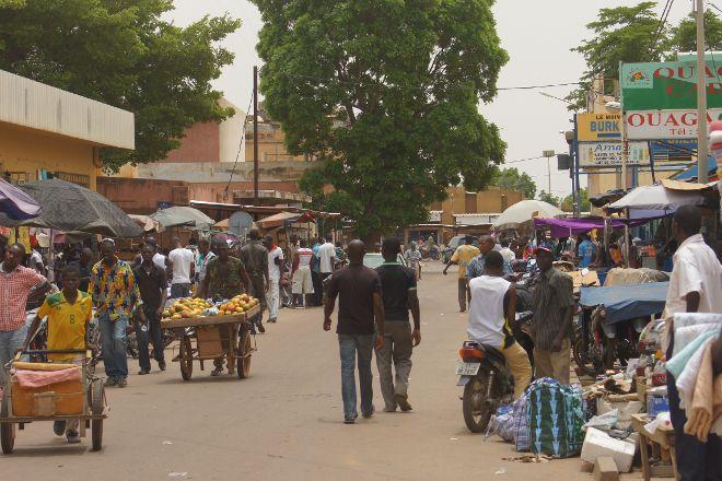 marche de Sankariare, Ouagadougou, Burkina Faso