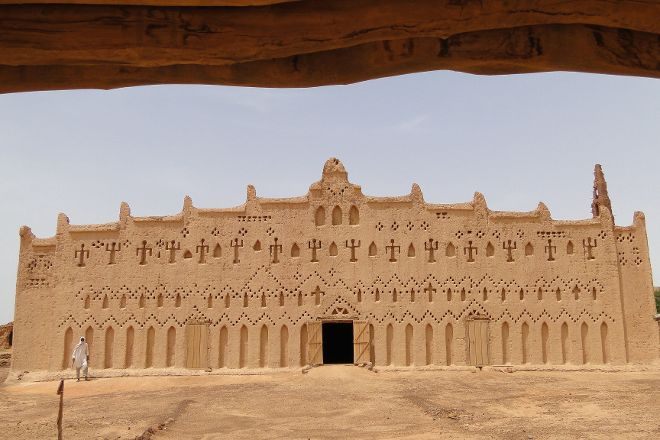The Grand Mosque at Bani, Bani, Burkina Faso