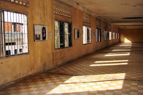 Tuol Sleng Genocide Museum, Phnom Penh, Cambodia