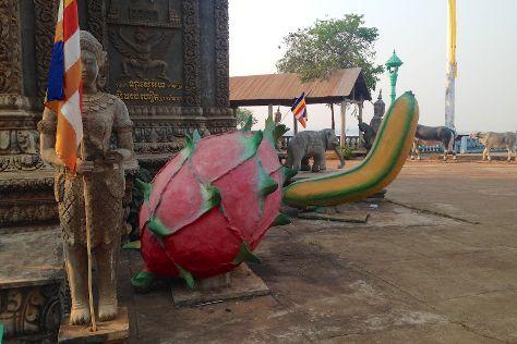 Wat Hanchey, Kampong Cham, Cambodia
