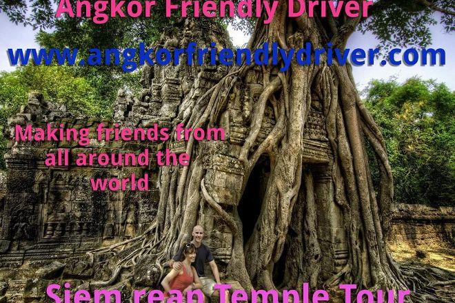 Angkor Dorn Drivers, Siem Reap, Cambodia