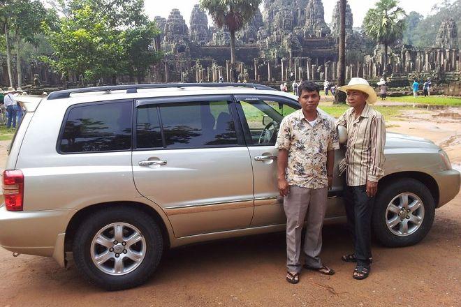 Angkor Driver Private Tour, Siem Reap, Cambodia