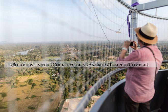 Angkor Hot Air Balloon, Siem Reap, Cambodia