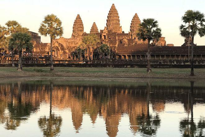 Bayon Guide, Siem Reap, Cambodia
