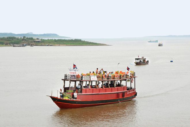Mekong River, Phnom Penh, Cambodia