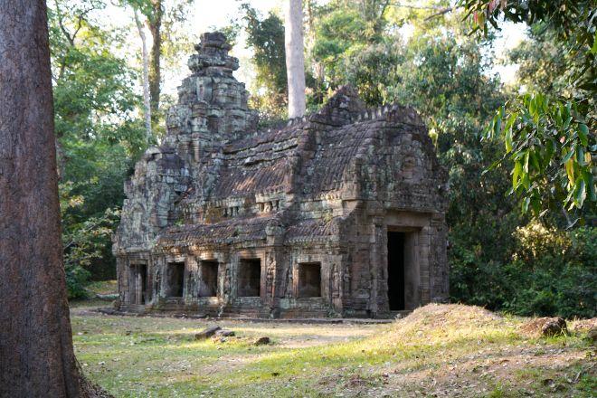 Preah Khan, Siem Reap, Cambodia
