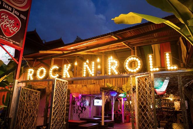 Rock'n'Roll Bar, Siem Reap, Cambodia