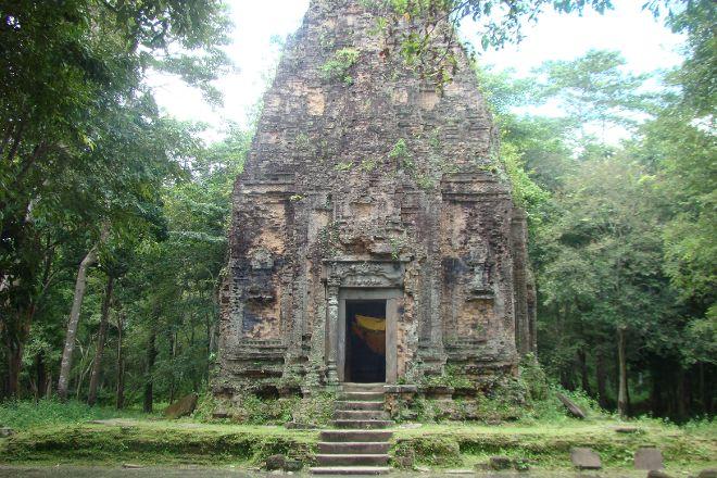 Sambo Preykuk Temples, Kampong Thom, Cambodia