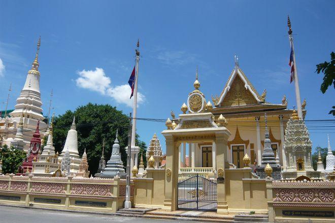 Temple of the Lotus Blossoms, Phnom Penh, Cambodia