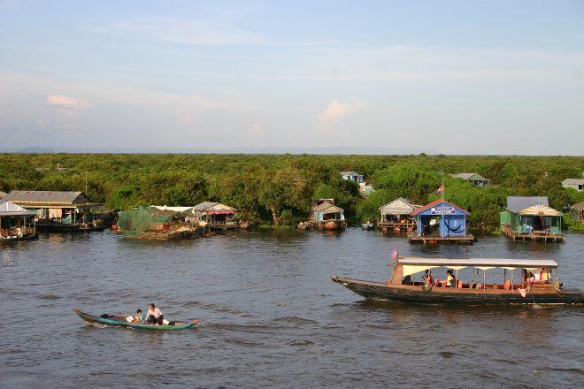 Tonle Sap Lake, Siem Reap Province, Cambodia