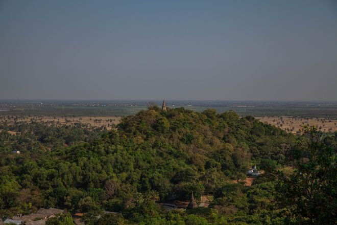 Udong Mountain, Udong, Cambodia